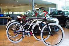 Villy Custom cruisers for Audi Dallas Cool Bicycles, Dallas, Branding, Cool Stuff, Brand Management, Identity Branding