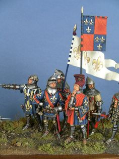 Home - Parvimilites Medieval Paintings, 28mm Miniatures, Wars Of The Roses, Richard Iii, Square Photos, Miniature Figurines, Flash Photography, Warfare, Vignettes