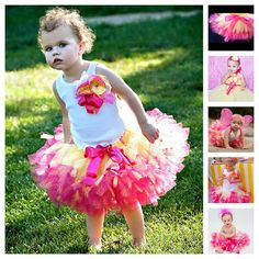 Strawberrie Lemonade Tutu Outfit by StrawberrieRose on Etsy