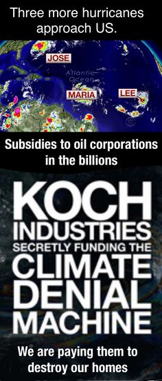How much extreme weather do we need before we realize the big oil legal campaign bribes give to the republican congress is killing us?
