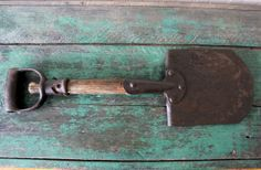 Antique Trenching Shovel / Farm tools / Military by CeliaAntiques, $62.00