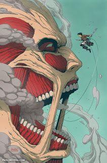 Attack on Titan - Paolo Riveira Manga Anime, Anime Demon, Otaku Anime, Manga Art, Aot Wallpaper, Cute Anime Wallpaper, Attack On Titan Fanart, Attack On Titan Levi, Cool Anime Wallpapers