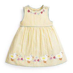 Girls' Pretty Gingham Jumper Dress | JoJo Maman Bebe