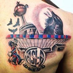 Tattoo Cuervo,una maravilla.