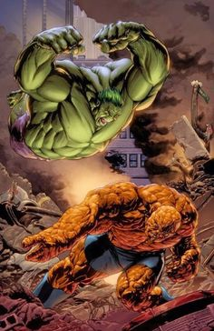 imagenes de la mole vs hulk