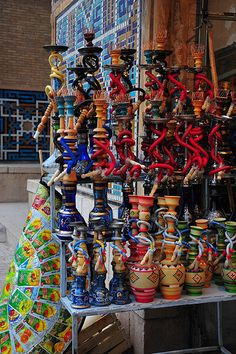 Ghaliyan or Hookah....Water Pipes Iran