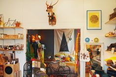 The Woodsfolk Melbourne shop interior via Design is Yay!