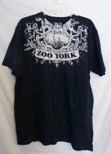 Zoo York Unbreakable Navy Blue T Shirt Size XL