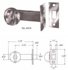 Baldwin 0413264 Mortise Door Bolt Satin Chrome by Baldwin >>> Want to know more, click on the image.