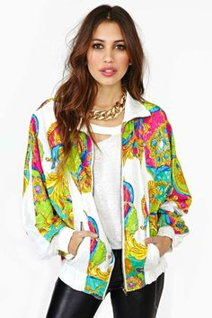 Neon Age Bomber Jacket