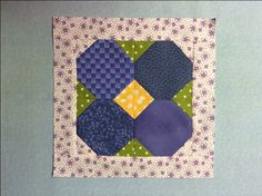 May Flowers quilt block free tutorial from Craftsy