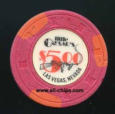 #LasVegasCasinoChip of the day is a $5 Little Caesars 2nd issue you can get here https://www.all-chips.com/ChipDetail.php?ChipID=19553 #CasinoChip #LasVegas