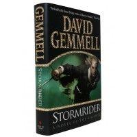 David Gemmell - Stormrider - Bantam Press 2002 UK Signed First Edition