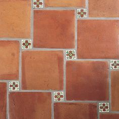 mexican rustic clay floor tiles