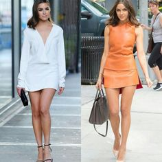 A Olivia Culpo em dois modelitos simples/chiques inspiradores! Ótimos para eventos formais em dias mais fresquinhos! ✨ #oliviaculpo #fashion #style #simplechic