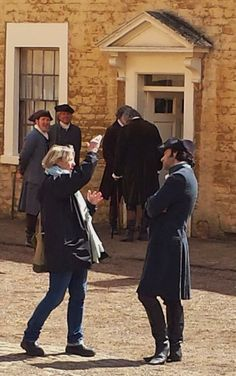 """Just realised that @JAHollingworth is in this pic from #poldarkfilming..good to see him there"" - via https://twitter.com/Dorina335"