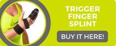 trigger finger splint to help treat trigger thumb Trigger Finger Exercises, Trigger Finger Treatment, Dupuytren's Contracture, Arthritis Hands, Ligament Tear, Hand Therapy, Alternative Treatments, Pain Management, Arthritis