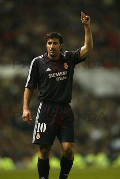 Luis Figo of Real Madrid in 2003.
