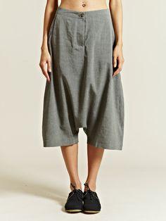 Marvielab Women's Long Drop Crotch Shorts