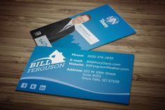 Branding and Identity / Business Cards for realtor Bill Ferguson - Designed by Amy Gehling - amygehling.com - logo design Find Work, Business Cards, Amy, Identity, Logo Design, Branding, Brand Management, Visit Cards, Brand Identity