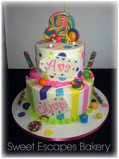 Sweet Shoppe Birthday Cake
