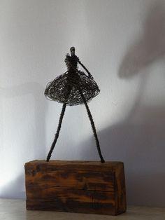"Saatchi Online Artist D S León; Sculpture, ""Woman wake"" #art"