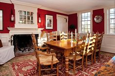 Careful attention to original details preserves and revives a vacant New England home with a considerable history