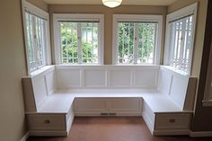 banquette dining room room - Google Search