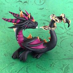 Dragon with snake friend!!