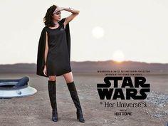 http://thekesselrunway.dr-maul.com/2015/11/05/her-universe-advert-photo/ #thekesselrunway #starwarsfashion