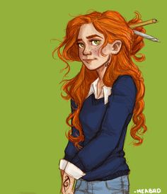 fan art of Clary Fray (The Mortal Instruments books series) by meabhd Percy Jackson, Character Inspiration, Character Art, Character Design, Rachel Elizabeth Dare, Cassie Clare, Cassandra Clare Books, Tio Rick, Fanart