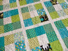 quilt patterns for boys | baby boy quilt custom made baby quilt pattern and fabric were chosen ...
