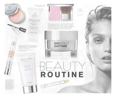 """What's Your Morning Beauty Routine?"" by katarina-blagojevic ❤ liked on Polyvore featuring beauty, Bioeffect, Guerlain, Christian Dior, Anja, Bobbi Brown Cosmetics and Marc Jacobs"