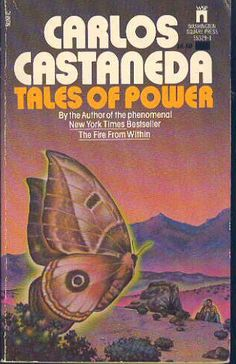 Tales of Power by Carlos Castenada, with cover illustration by Peter Schaumann, 1974