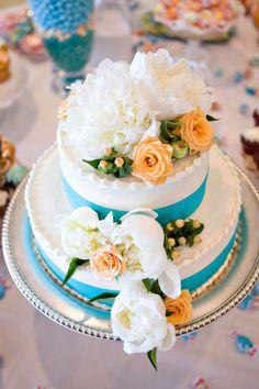 Живые розы украшение для торта