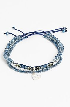 Chan Luu Beaded Adjustable Bracelets (Set of 2) available at #Nordstrom