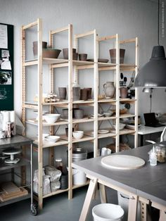 the finished effect of ikea furniture is all about context. images from ikea.se livet hemma.