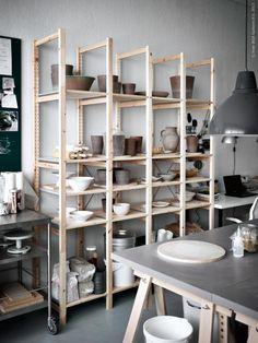 Ikea Ivar in The kiTchen