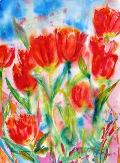 Spring Art lesson