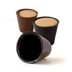 Langs Chocolates - Chocolate Shot Glasses, $24.00 (http://www.langschocolates.com/chocolate-shot-glasses/)