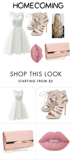 """Homecoming contest"" by pheebster ❤ liked on Polyvore featuring Carvela, New Look and Lime Crime"