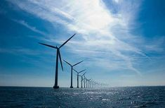 Windmills outside of Copenhagen (Image: andjohan)