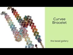 Curvee Bracelet at The Bead Gallery - YouTube