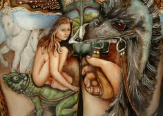 The Carousel (detail) by Bridget Harper