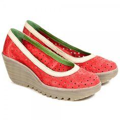Sapatos Yedi perfurados Fly London