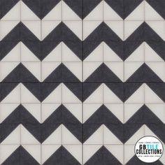 Encaustic Cement Tile - Geo 4