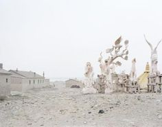 ZHANG KECHUN SCULPTURES IN THE COUNTRY, INNER MONGOLIA, 2011 Zhang Kechun is best known for his large format photographs of post-industrial Chinese landscapes. He produces epic vistas that dwell on the significance of the landscape in modern Chinese national identity. He is represented in the United Kingdom by Beetles+Huxley gallery.