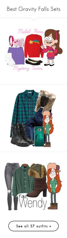 """""""Best Gravity Falls Sets"""" by jasontoddleovaldezlover ❤ liked on Polyvore featuring MABEL, Boohoo, Hue, favcharacters, Levi's, Giuseppe Zanotti, Casetify, Topshop, WithChic and Yves Salomon"""