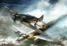 world war 2: FW-190 Rauhbautz VII by VitoSs on DeviantArt