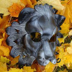Black Lion Leather Mask by merimask on DeviantArt